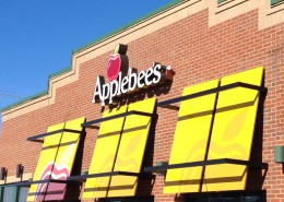 Applebees Channel Lettering